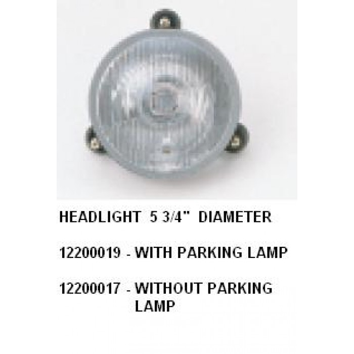 Part No 12200019-6 - Head Light With Parking Morcopolo Bus Body