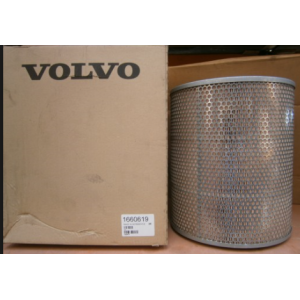 Part No 1660619  Air Filter Outer Volvo